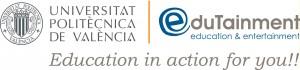 logo edutainment+UPV