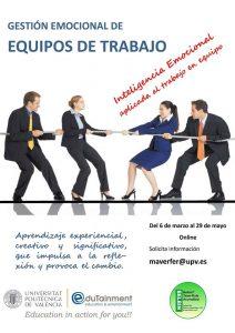 Edutainment_UPV_Gestion emocional de equipos de trabajo